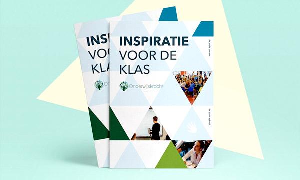 Grafisch ontwerpbureau Studio Mooijman en Mittelberg responsief ontwerp flyer Onderwijshelden Onderwijskracht
