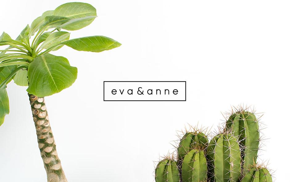 Eva&Anne, Studio Maooijman en Mittelberg, logo restyle, ontwerp, Den Haag