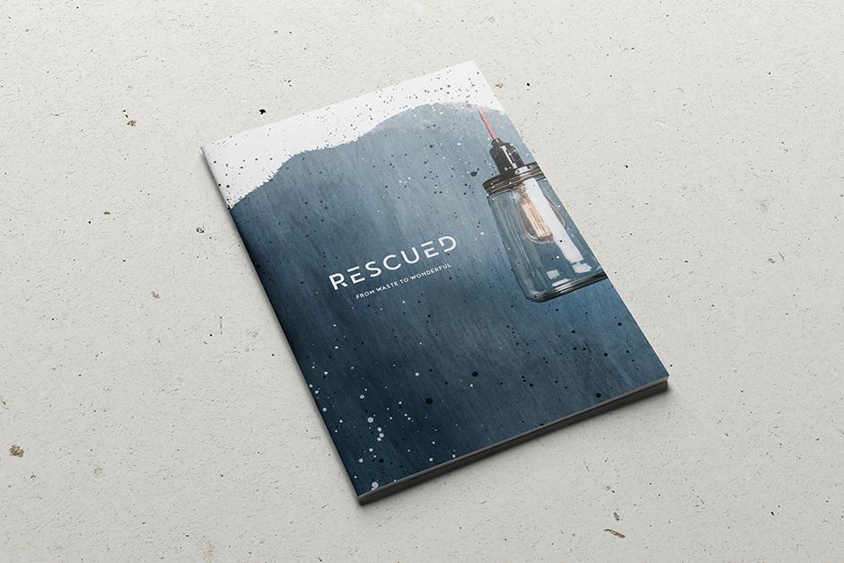Rescued, catalogus, logo, identiteit, Grafisch ontwerpbureau Studio Mooijman en Mittelberg, ontwerp, Den Haag