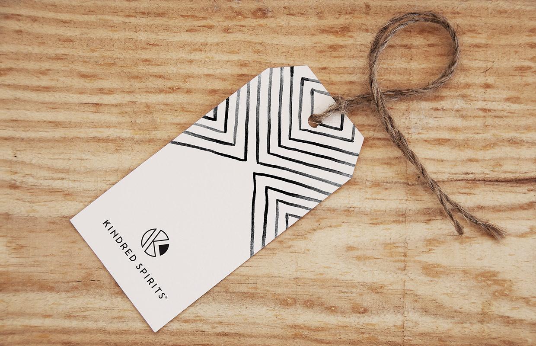 Kindred Spirits label – Studio Mooijman en Mittelberg, Grafisch ontwerpbureau, Den Haag