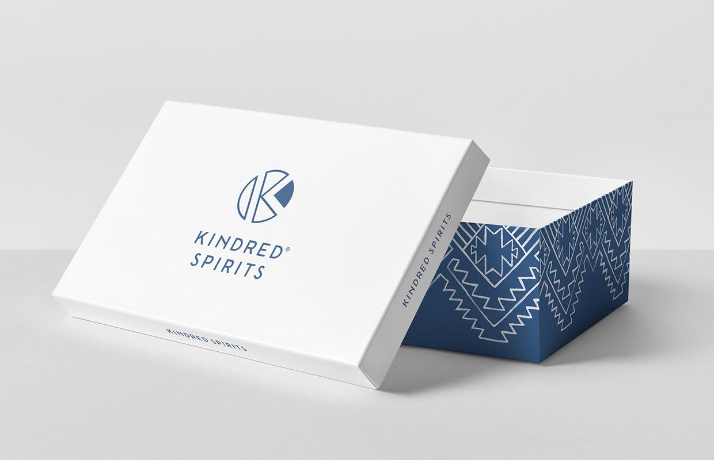 Kindred Spirits schoenendoos – Studio Mooijman en Mittelberg, Grafisch ontwerpbureau, Den Haag