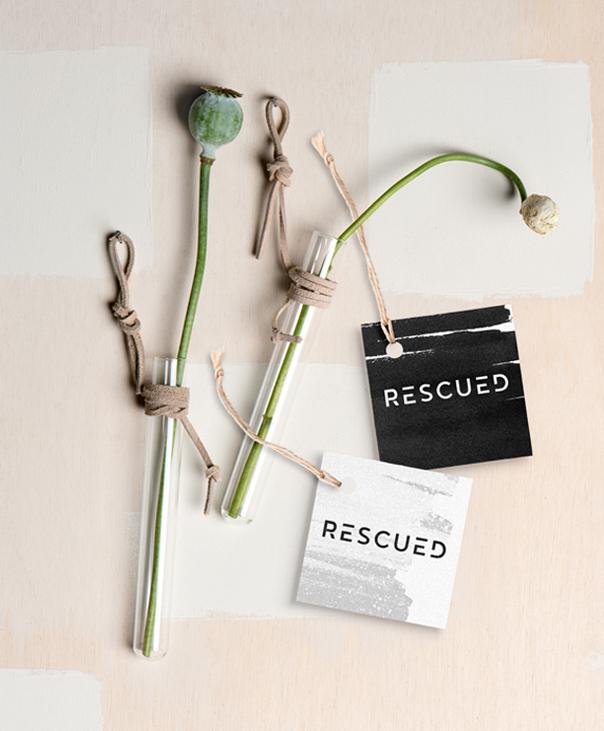 Rescued labels – Studio Mooijman en Mittelberg, Grafisch ontwerpbureau, Den Haag