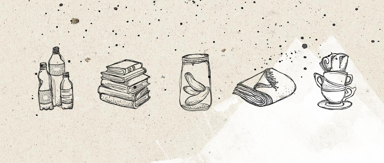 Rescued illustraties – Studio Mooijman en Mittelberg, Grafisch ontwerpbureau, Den Haag