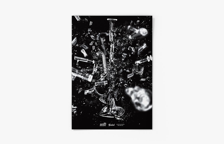 North Sea Jazz poster – Studio Mooijman en Mittelberg, Grafisch ontwerpbureau, Den Haag