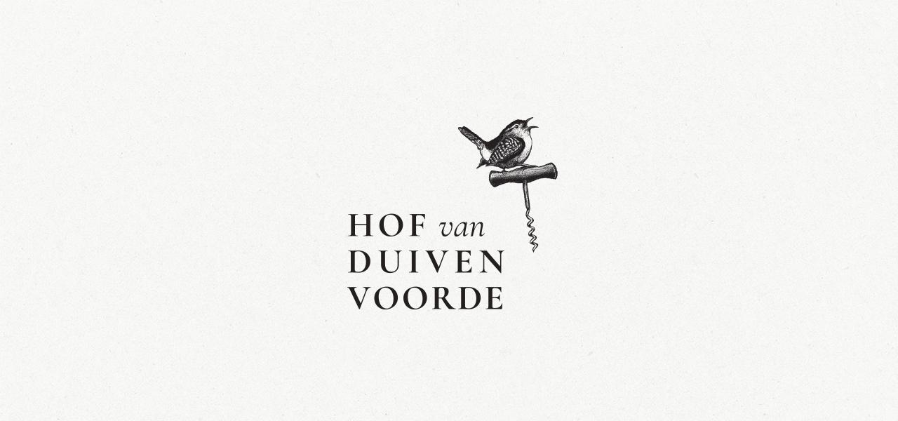 Hof van Duivenvoorde logo – Studio Mooijman en Mittelberg, Grafisch ontwerpbureau, Den Haag