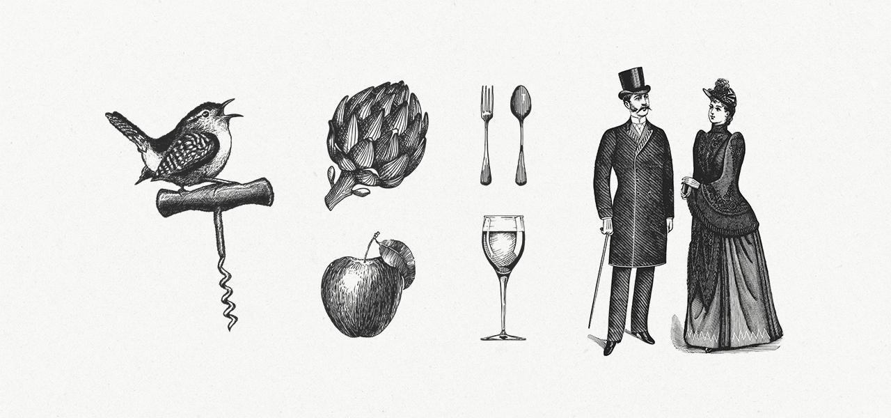 Hof van Duivenvoorde illustraties – Studio Mooijman en Mittelberg, Grafisch ontwerpbureau, Den Haag