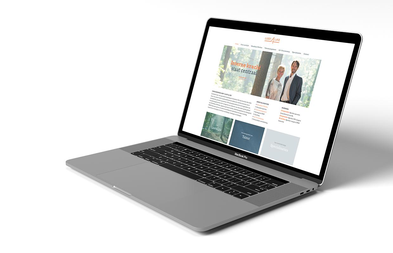 Lust 4 Life website – Studio Mooijman en Mittelberg, Grafisch ontwerpbureau, Den Haag