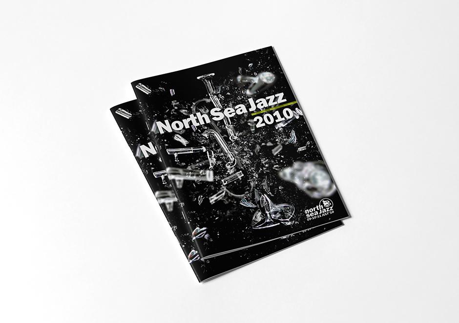 North Sea Jazz Brochure – Studio Mooijman en Mittelberg, Grafisch ontwerpbureau, Den Haag