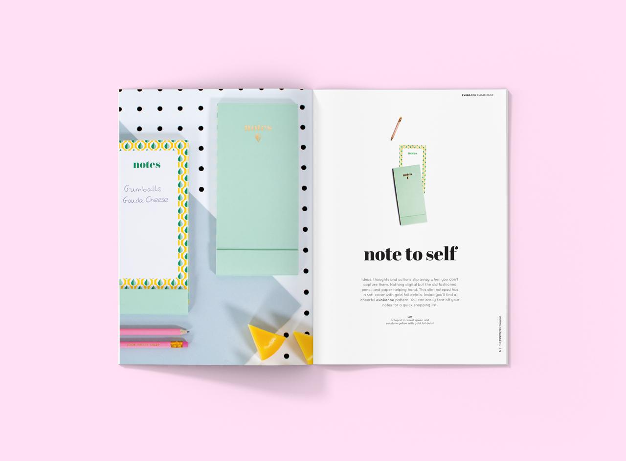 Eva en Anne brochure – Studio Mooijman en Mittelberg, Grafisch ontwerpbureau, Den Haag