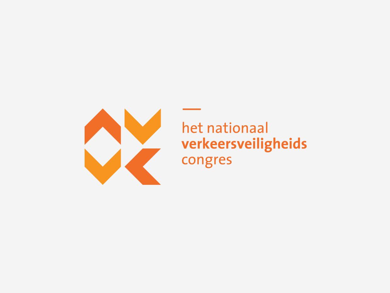 Het Nationaal Verkeersveiligheidscongres logo – Studio Mooijman en Mittelberg, Grafisch ontwerpbureau, Den Haag
