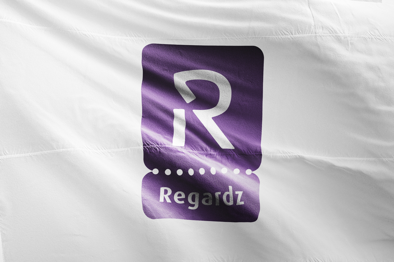 Regardz logo – Studio Mooijman en Mittelberg, Grafisch ontwerpbureau, Den Haag