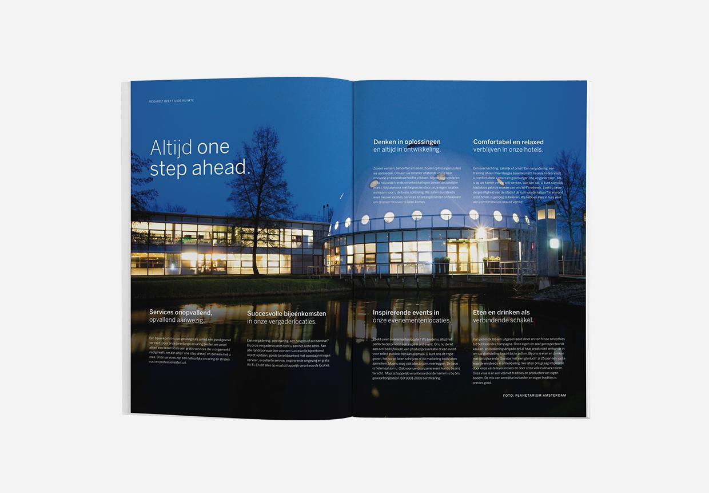 Regardz brochure – Studio Mooijman en Mittelberg, Grafisch ontwerpbureau, Den Haag