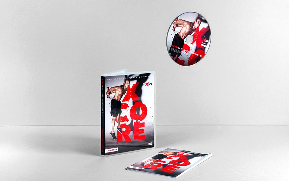 XCORE dvd – Studio Mooijman en Mittelberg, Grafisch ontwerpbureau, Den Haag