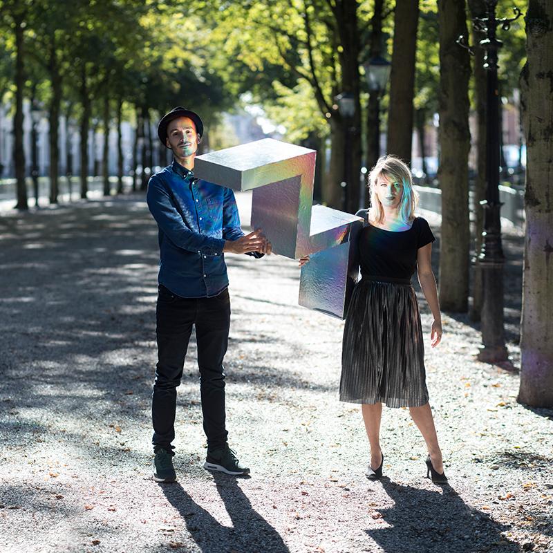 William Mooijman en Sophie Mittelberg – Studio Mooijman en Mittelberg, Grafisch ontwerpbureau, Den Haag