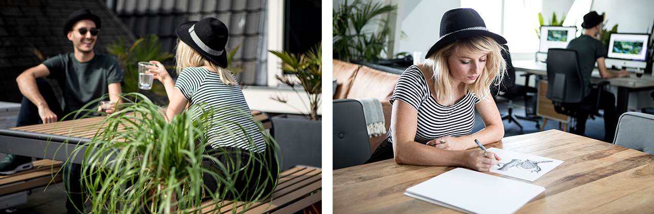 Sophie en William – Studio Mooijman en Mittelberg, Grafisch ontwerpbureau, Den Haag