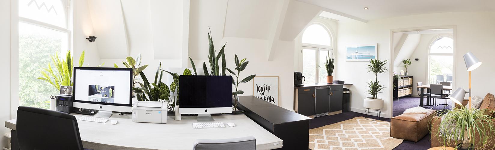 Foto van de studio – Studio Mooijman en Mittelberg, Grafisch ontwerpbureau, Den Haag