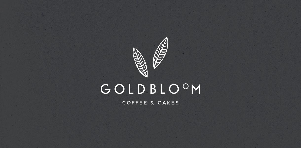Goldbloom logo – Studio Mooijman en Mittelberg, Grafisch ontwerpbureau, Den Haag