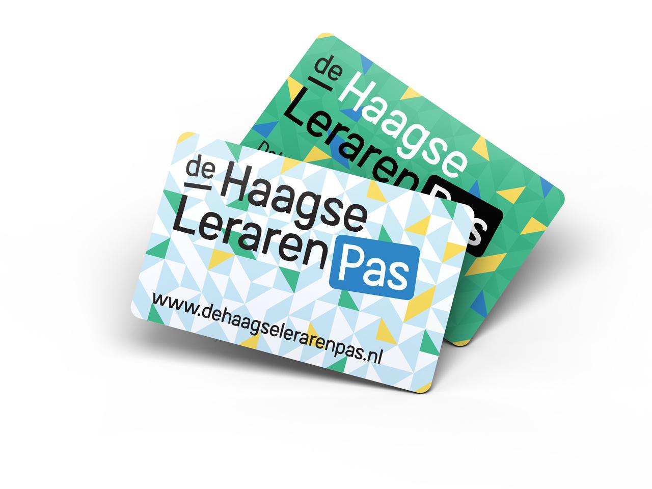 De Haagse Lerarenpas, Studio Mooijman en Mittelberg, Den Haag, ontwerp identiteit, logo en website