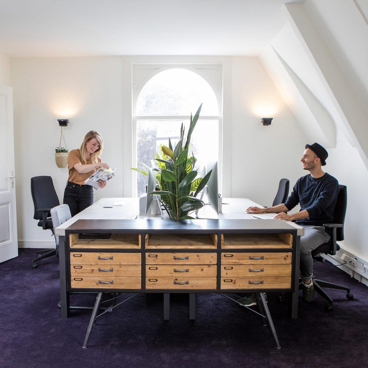 Sophie Mittelberg en William Mooijman – Studio Mooijman en Mittelberg, Grafisch ontwerpbureau, Den Haag