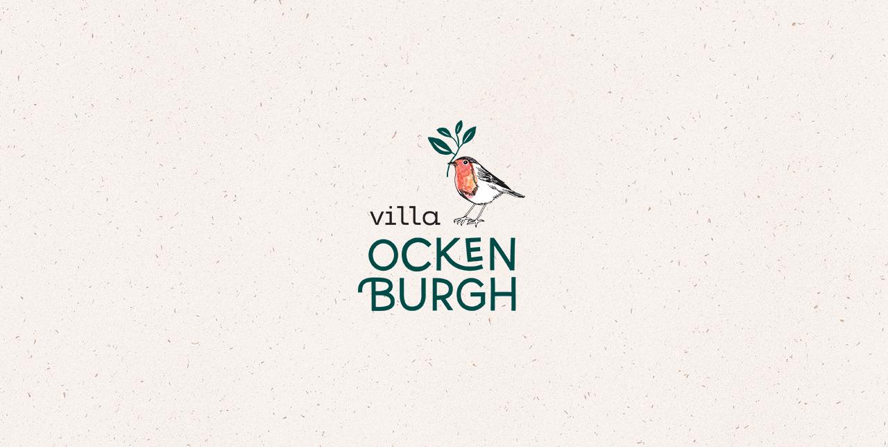 Logo Villa Ockenburgh, Studio Mooijman en Mittelberg