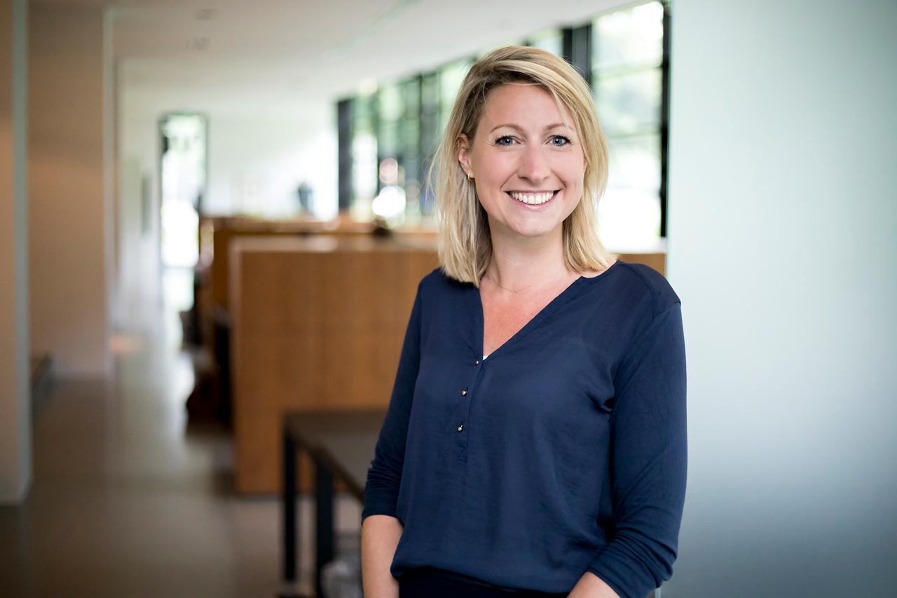 Portret Anne-Bregje Huijsmans, Ontwerp website Ten Have Change Management, Studio Mooijman en Mittelberg